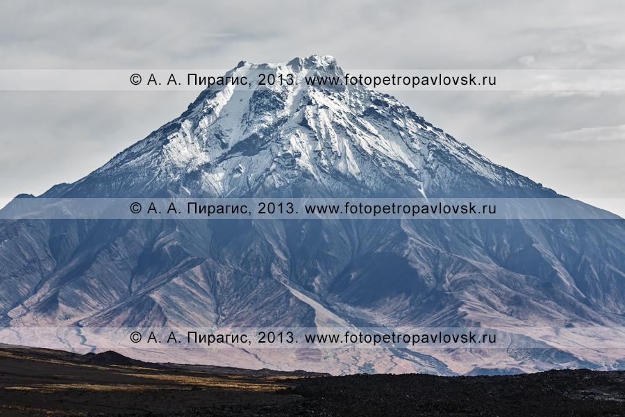 Фотография: вулкан Большая Удина на полуострове Камчатка