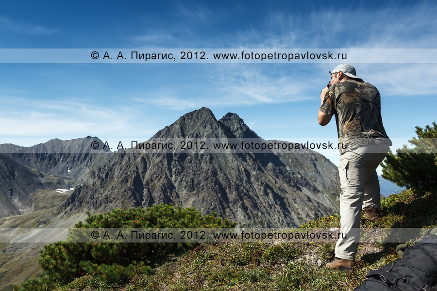Фотография: фотосъемка горного массива Вачкажец на Камчатке