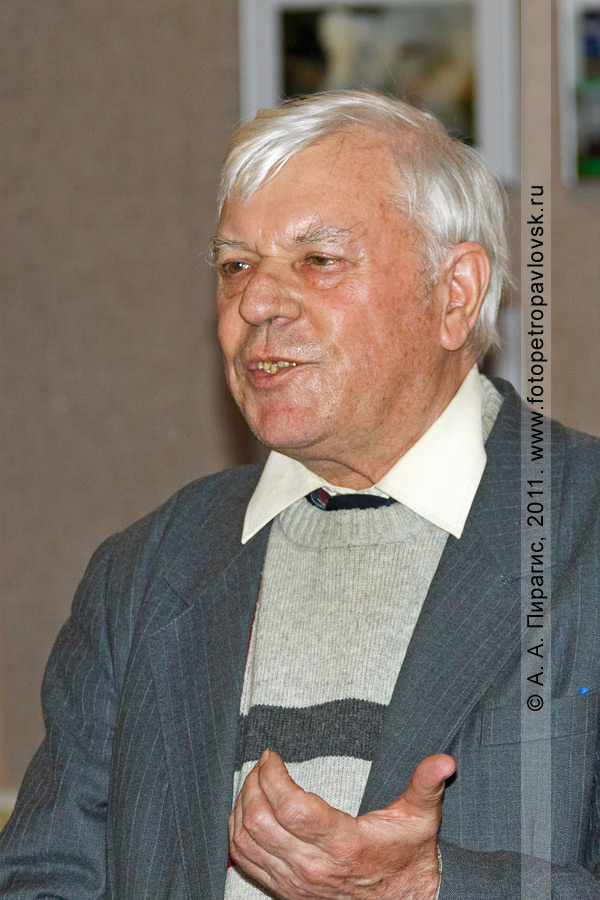 Фотография: Михаил Жилин, камчатский писатель, журналист, краевед, фотограф