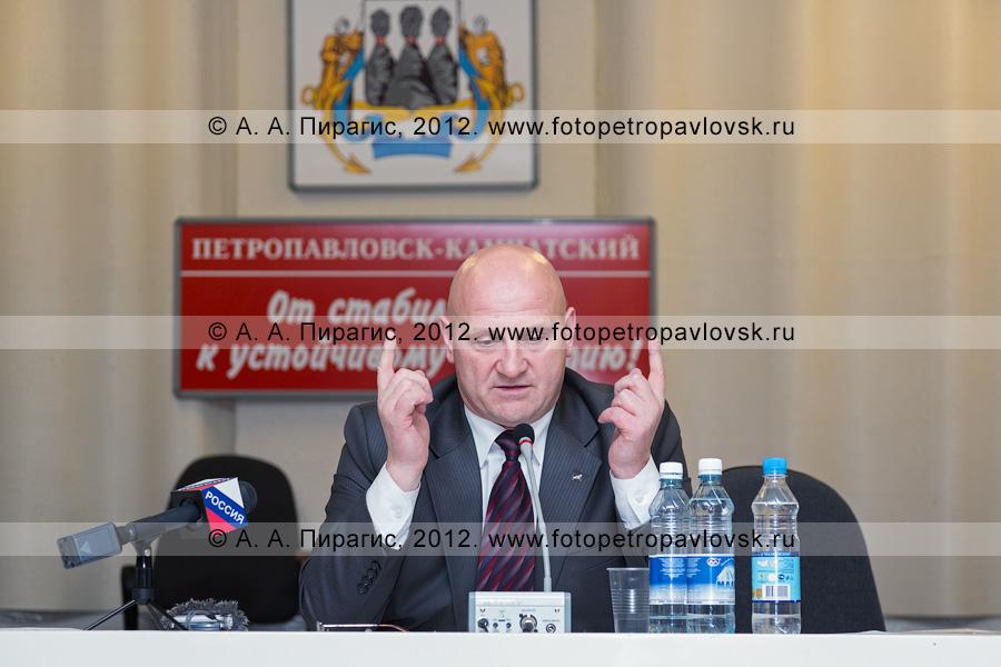 Фотография: Слыщенко Константин — мэр города Петропавловска-Камчатского
