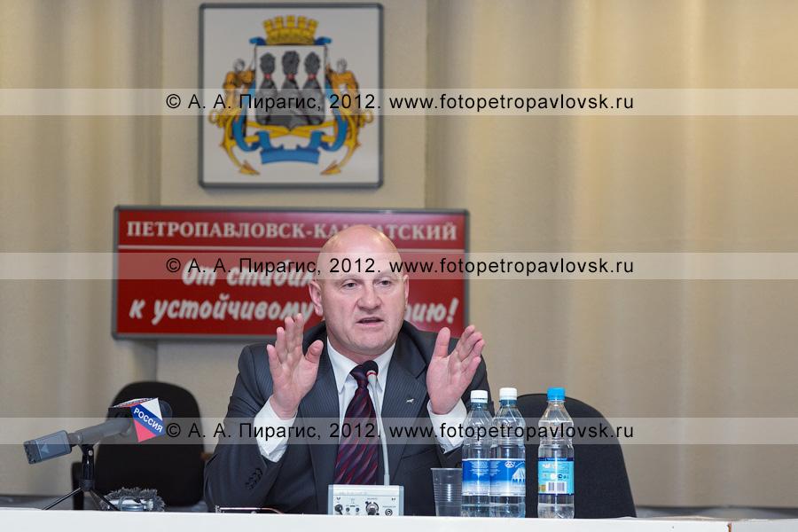 Фотография: Константин Слыщенко — глава города Петропавловска-Камчатского