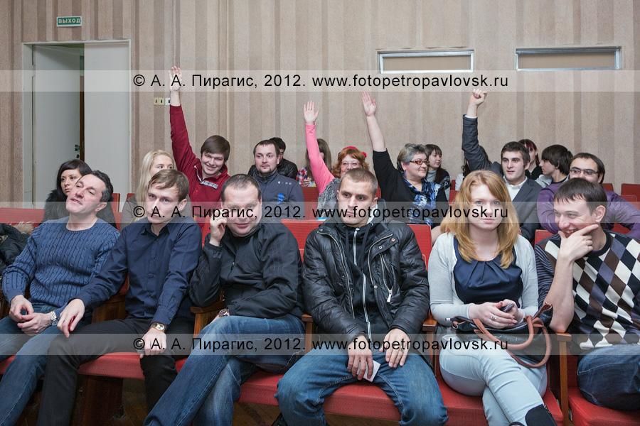 Фотография: встреча главы Петропавловск-Камчатского городского округа Константина Слыщенко с петропавловской молодежью