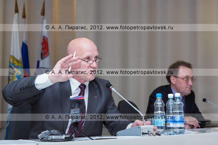 Фотография: мэр города Петропавловска-Камчатского Слыщенко Константин