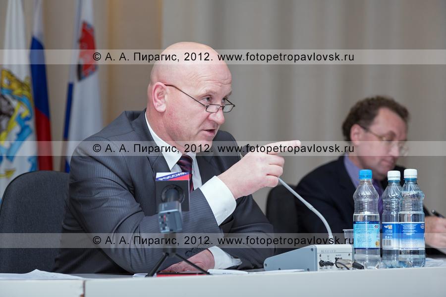 Фотография: глава Петропавловск-Камчатского городского округа Константин Слыщенко
