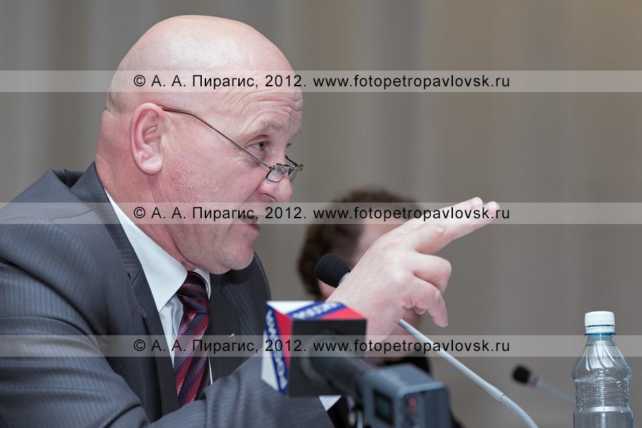 Фотография: Слыщенко Константин — глава Петропавловск-Камчатского городского округа