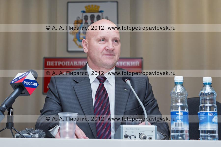 Фотография: Константин Слыщенко — глава Петропавловск-Камчатского городского округа