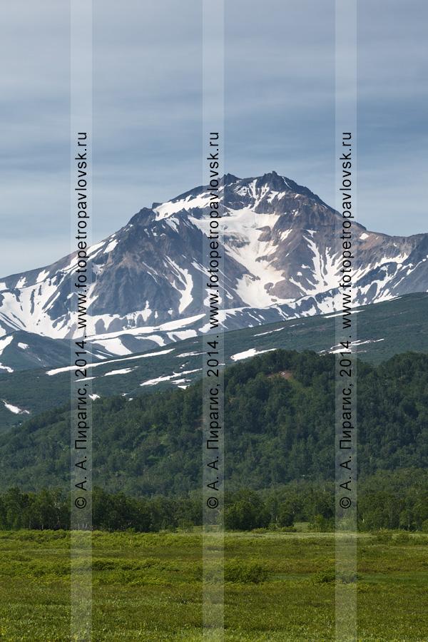 Вулкан Арик (гора Арик, Arik Volcano). Камчатка, Авачинско-Корякская группа вулканов