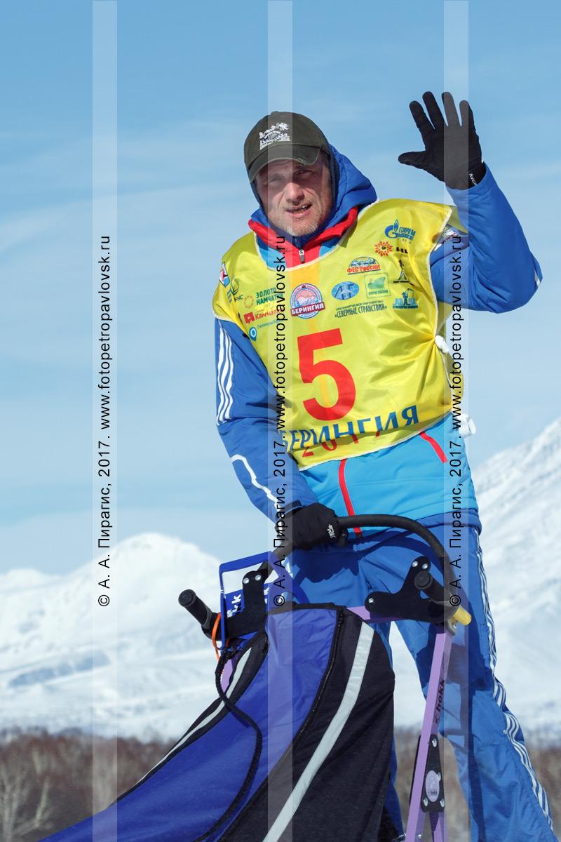 Фотография: каюр Денис Рябухин — спортсмен из города Хабаровска