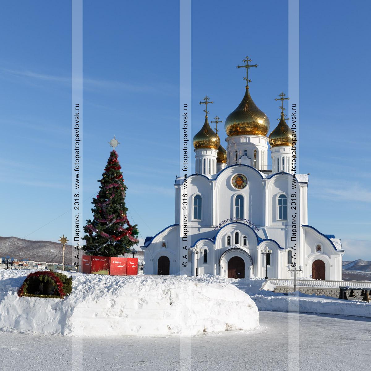 Фотография: кафедральный собор во имя Святой Живоначальной Троицы Петропавловской и Камчатской епархии Русской православной церкви