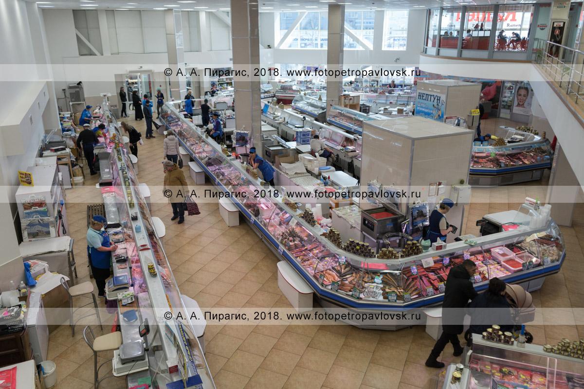 Фотография: рыбный рынок в городе Петропавловске-Камчатском