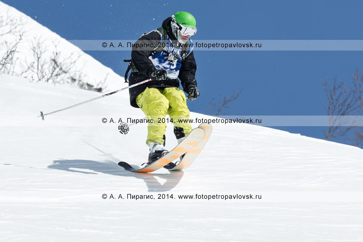 """Фотография: соревнования среди горнолыжников и сноубордистов по фрирайду """"Kamchatka freeride Open Cup"""". Полуостров Камчатка, Начикинский перевал"""