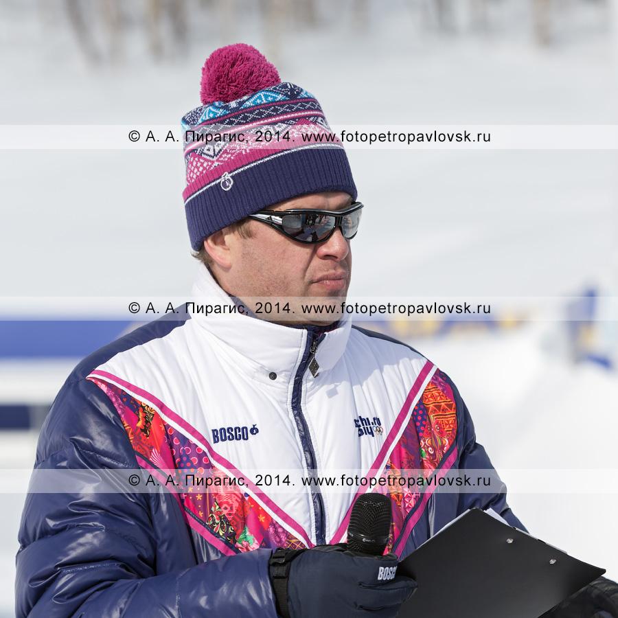 Фотография: Губерниев Дмитрий — российский телеведущий, спортивный комментатор