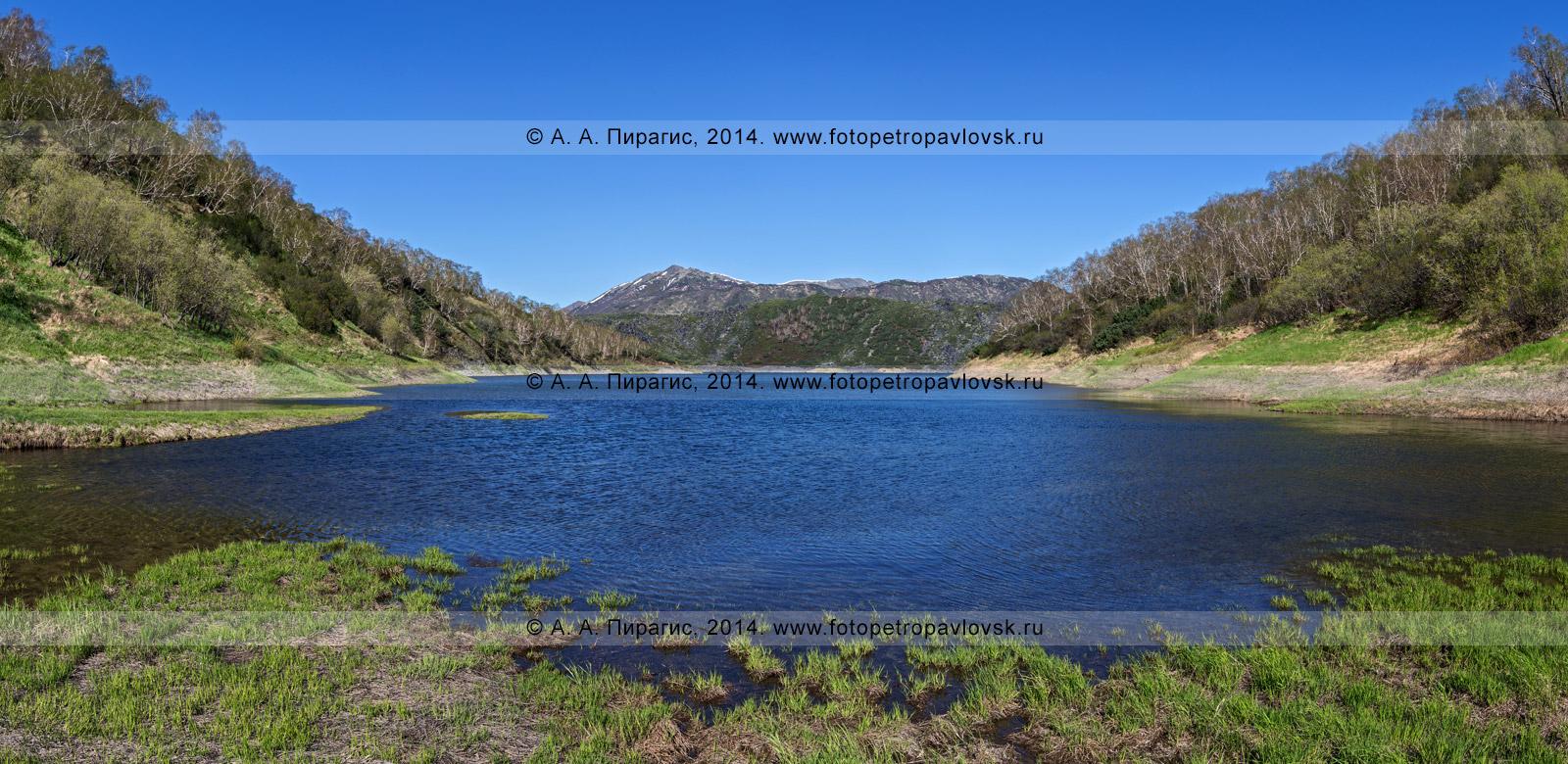 Фотография: панорама озера Ангре. Камчатка, Срединный хребет