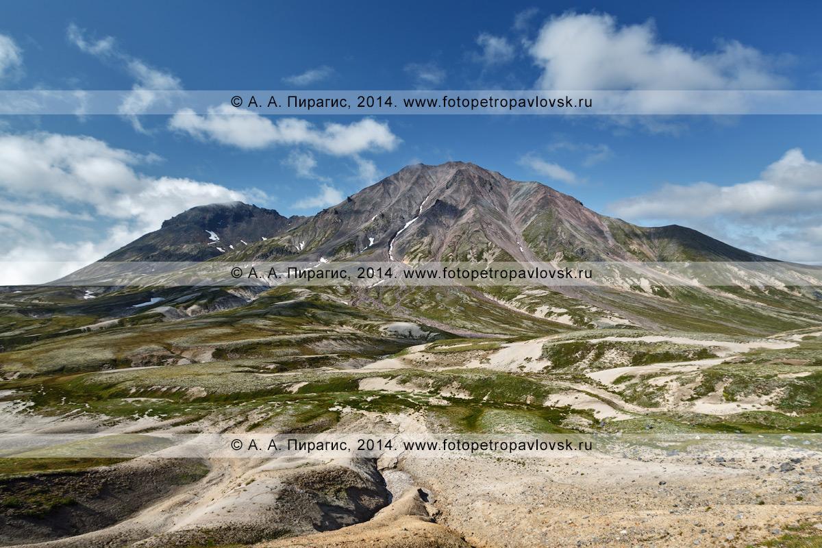Фотография: Вулкан Хангар (сопка Хангар, Кожгумк, Khangar Volcano). Камчатка, Срединный хребет, Срединный вулканический пояс