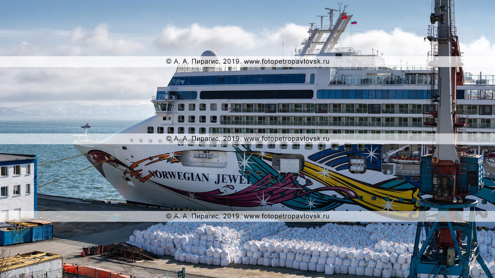 Фотография: круизный лайнер Norwegian Jewel. Полуостров Камчатка, Петропавловск-Камчатский морской торговый порт