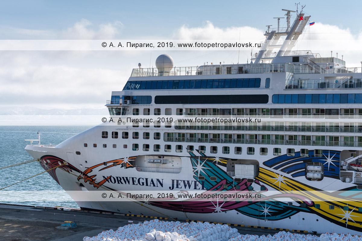 Фотография: круизный лайнер Norwegian Jewel. Камчатский край, Петропавловск-Камчатский морской торговый порт