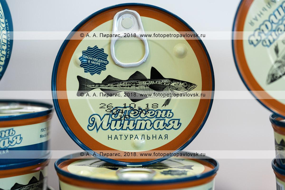 Фотография: камчатский деликатес — консервированная печень минтая натуральная, цена консервной банки