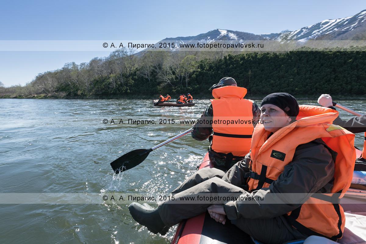 Фотография: водный туризм в Камчатском крае — сплав на рафте по реке Быстрой (Малкинская)