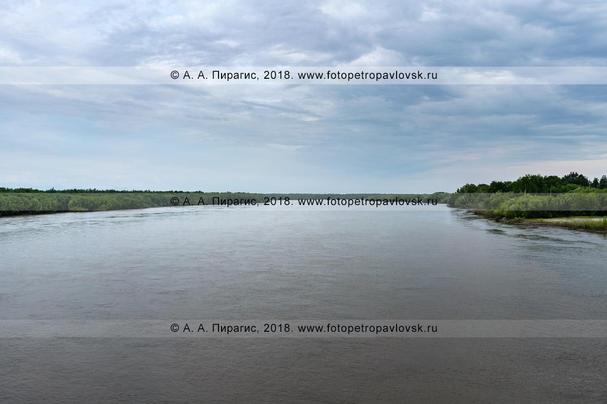 Фотография: река Камчатка в Камчатском крае