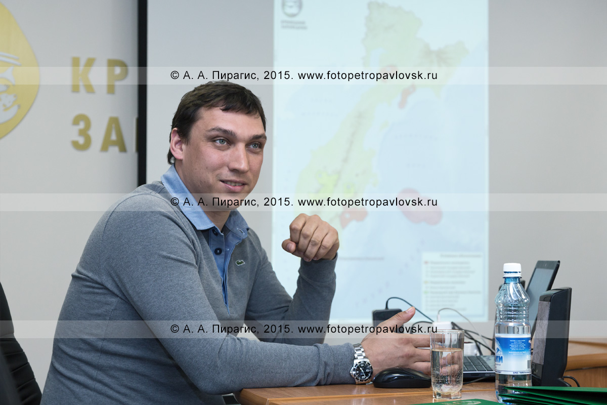 Тихон Шпиленок — директор Кроноцкого природного биосферного заповедника на Камчатке