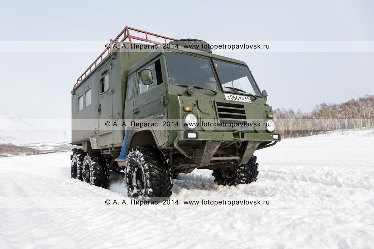 Фотография: шведский военный внедорожник Volvo Laplander C304 (6WD)