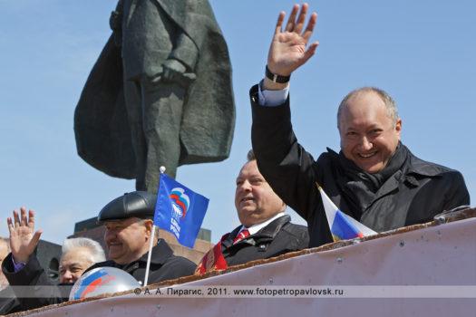 Фоторепортаж: празднование 1 Мая в городе Петропавловске-Камчатском