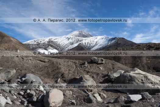 Фотографии Авачинского вулкана на полуострове Камчатка