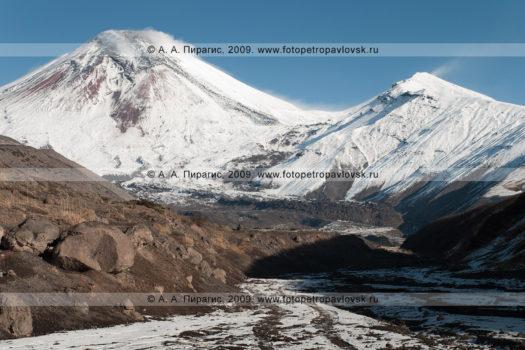 Авачинский вулкан — действующий вулкан на полуострове Камчатка