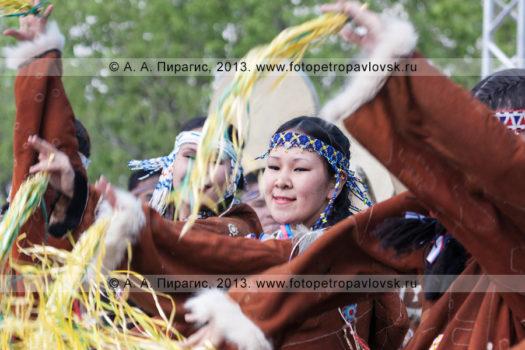 Корякский обрядовый праздник День первой рыбы на полуострове Камчатка