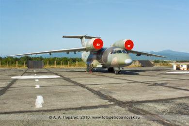 Фотография: морской патрульный самолет Ан-72П