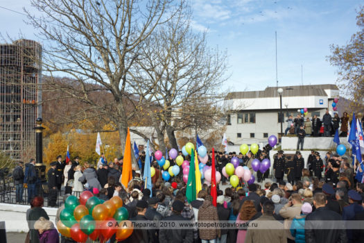 Фоторепортаж: День города Петропавловска-Камчатского. Ритуал памяти, посвященный Витусу Йонассену Берингу