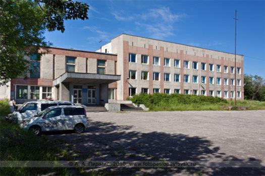 Камчатский дворец детского творчества (Дворец пионеров) в городе Петропавловске-Камчатском
