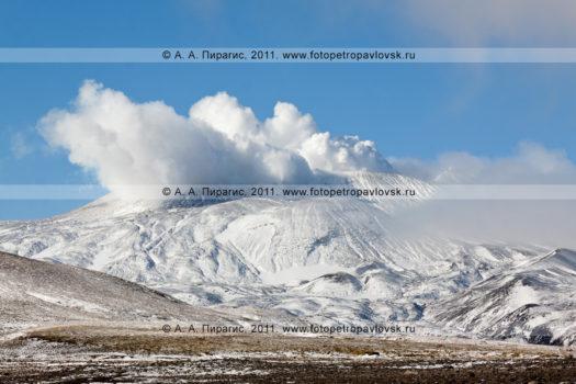 Фотографии действующего вулкана Горелого в Камчатском крае