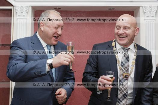 Фоторепортаж: фотографии инаугурации главы Петропавловск-Камчатского городского округа Слыщенко Константина