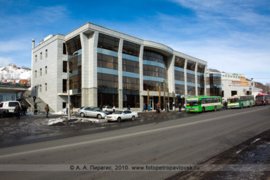 Фотография торгового центра на КП в городе Петропавловске-Камчатском