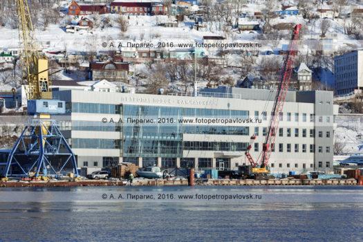 Фотография: Петропавловск-Камчатский морской вокзал в столице Камчатского края