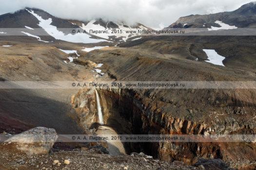 Фотографии водопада, каньона Опасный (овраг Опасный) на полуострове Камчатка