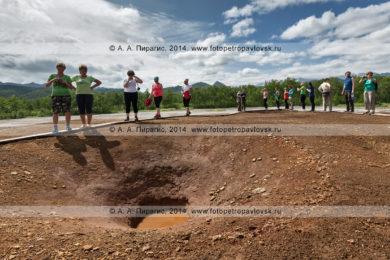Фотографии: травертиновый щит Котел (термальная площадка Котел). Налычевский природный парк на полуострове Камчатка