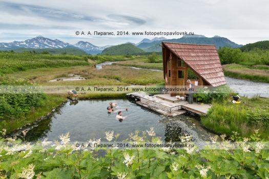 Фотографии Горячереченских термальных источников на полуострове Камчатка
