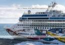 Фотографии круизного лайнера Norwegian Jewel на полуострове Камчатка, в Петропавловск-Камчатском морском торговом порту.