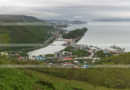 Панорама города Петропавловска-Камчатского, летний вид на центральную и южную часть города