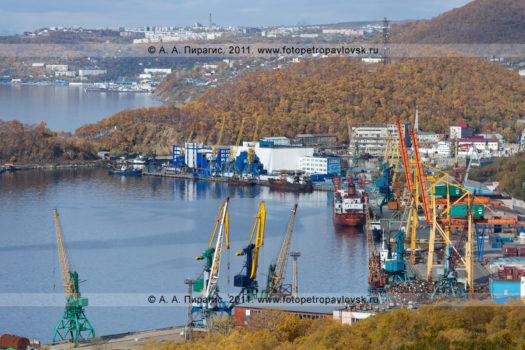 Фотографии Петропавловск-Камчатского морского торгового порта в городе Петропавловске-Камчатском