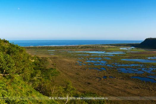 Фотографии (панорамы): Приливное озеро, Авачинский залив, Тихий океан