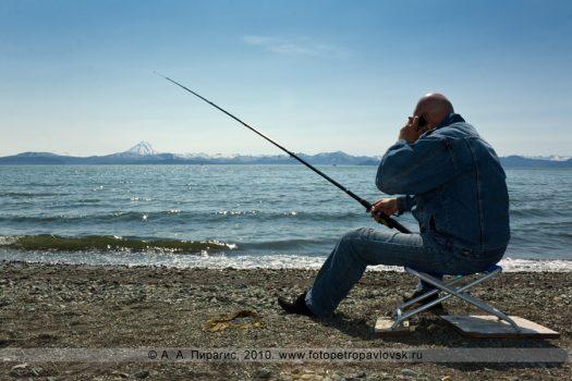 Рыбалка на Камчатке, Озерновская коса, Авачинская губа (бухта)