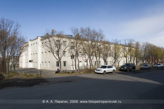 Фотография школы № 43 в городе Петропавловске-Камчатском