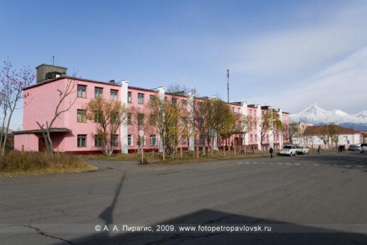 Фотография школы № 7 города Петропавловска-Камчатского