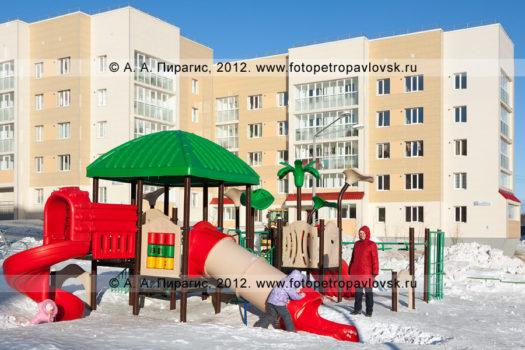 Фотографии: детская игровая площадка (уличный детский городок) в городе Петропавловске-Камчатском