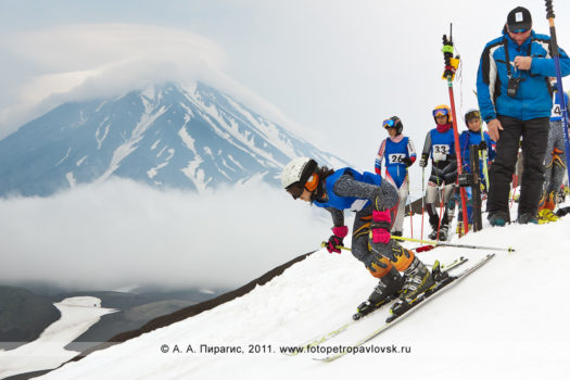 Летнее первенство Камчатского края по горнолыжному спорту на Авачинском вулкане