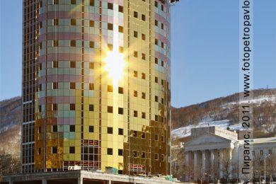 Камчатский небоскреб — бизнес-центр, офисное здание в историческом центре города Петропавловска-Камчатского