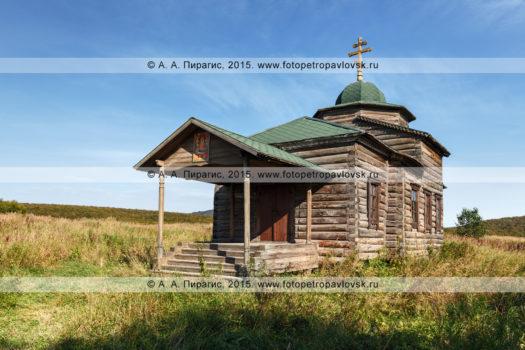 Фотографии православной Нижнекамчатской церкви Успения Пресвятой Богородицы (Нижнекамчатская Успенская церковь) на полуострове Камчатка